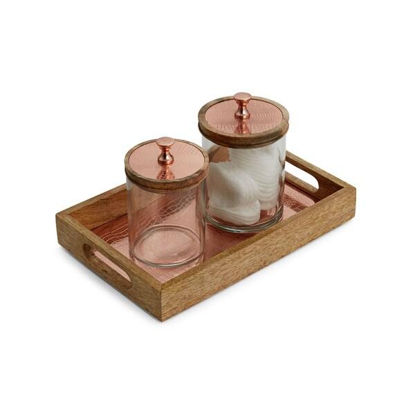Meridian Copper Bathroom Accessory Set