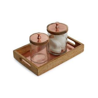 Meridian Copper Bathroom Accessory Set