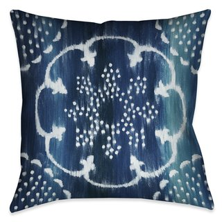 Laural Home Blue Moon Pattern I Indoor- Outdoor Decorative Pillow
