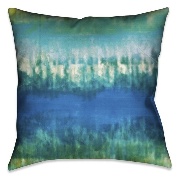 Shop Laural Home Tie Dye Indoor Outdoor Decorative Pillow Free