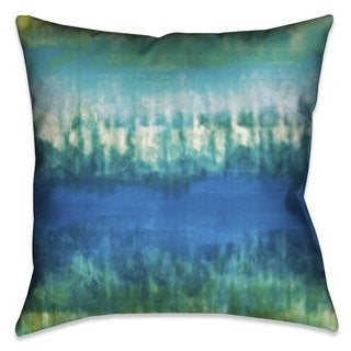 Laural Home Tie Dye Indoor- Outdoor Decorative Pillow