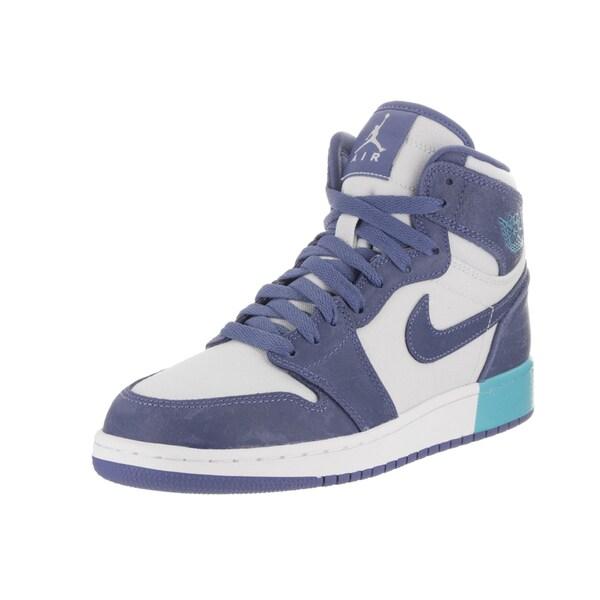 43438fdcaf6c6 Shop Nike Jordan Kids Air Jordan 1 Retro High GG Basketball Shoe ...