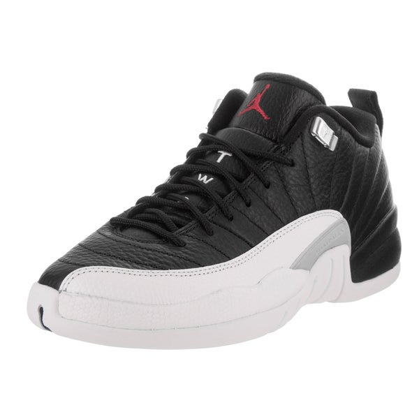 buy online e903e 0b41c Shop Nike Jordan Kids Air Jordan 12 Retro Low BG Basketball ...