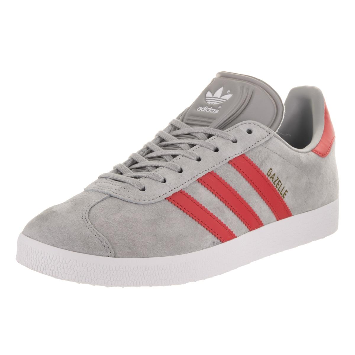 Adidas Men's Gazelle Originals Casual Shoe (9), Grey (suede)