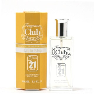 Frag Club #21 D&G Light Blue Women's 3.4-ounce Eau de Parfum Spray