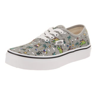 Vans Kids Authentic (Dino Party Train) Skate Shoe