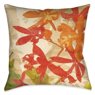 Laural Home Foliage Sunset I Outdoor Decorative Pillow