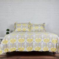 Lauren Taylor - Odda 3pc Printed Comforter Set