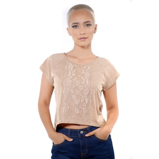 Women's Front Lace High Low Top