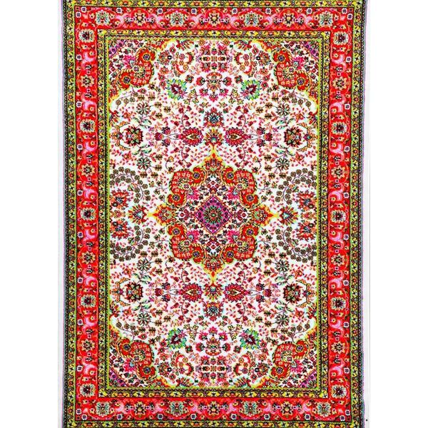 Persian Rugs Modern Trendz Oriental Traditional Multicolored Ivory/ Red Area Rug - 7'10 x 10'6