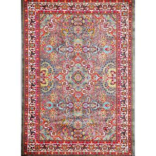 Persian Rugs Modern Trendz Oriental Traditional Multi Colors Grey Area Rug (7'10 x 10'6)