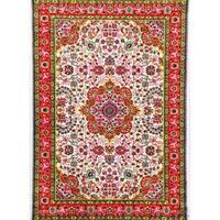Persian Rugs Modern Trendz Red Oriental Area Rug - 5'2 x 7'2