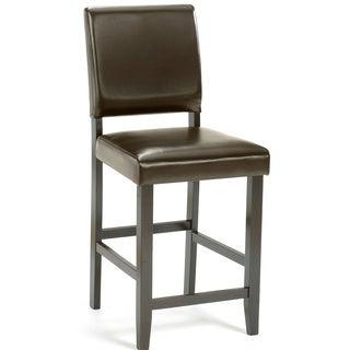 Hillsdale Furniture Arcadia Espresso Finish Non-swivel Parson Counter Stool