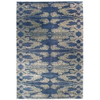 "Wool Nepal Rug (6'2'' x 8'11'') - 5'2"" x 13'6"""