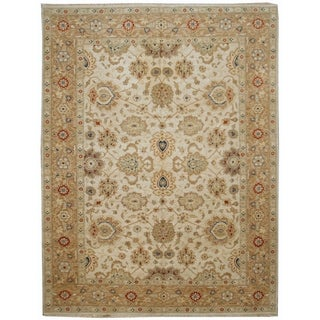 Handknotted Designer Wool Zeigler Rug (7'10'' x 10'4'') - 7'10'' x 10'4''