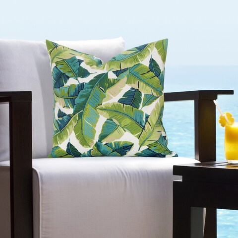 Siscovers Fiji Indoor - Outdoor Tropical Throw Pillow