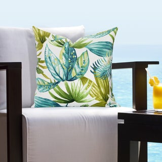 Siscovers Indoor - Outdoor Maui Tropical Throw Pillow