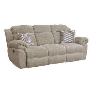 Genial Standard Furniture Sweeney Sandstone Polyester Chenille Manual Motion Sofa