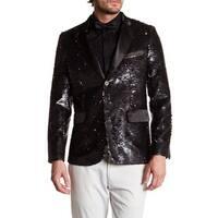 Men's Formal Slim Fit Sequin Blazer