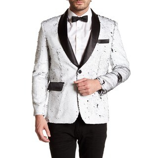 Men's Formal Sequin Blazer