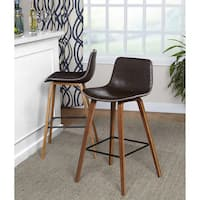 Simple Living Wapoli Mid-century Stool (Set of 2)