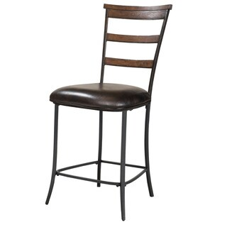 Hillsdale Furniture Cameron Chestnut Brown Finish Ladder Back Non Swivel Stool (Set of 2)