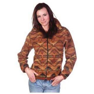 Mazmania Women's Corona Looped Wool Cinch Back Jacket