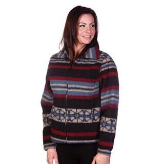 Mazmania Women's San Pablo Looped Wool Cinch Back Jacket