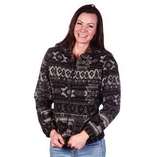 Mazmania Women's Diablo Looped Wool Cinch Back Jacket