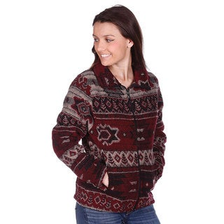 Mazmania Women's Napa Looped Wool Cinch Back Jacket