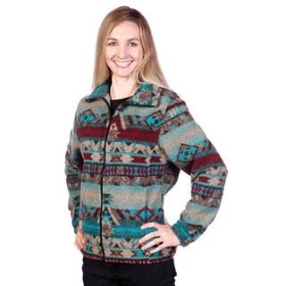 Mazmania Women's San Marco Looped Wool Cinch Back Jacket