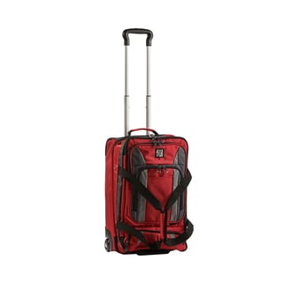 Ful Trans Crimson 20-inch Carry On Upright Rolling Duffel Bag