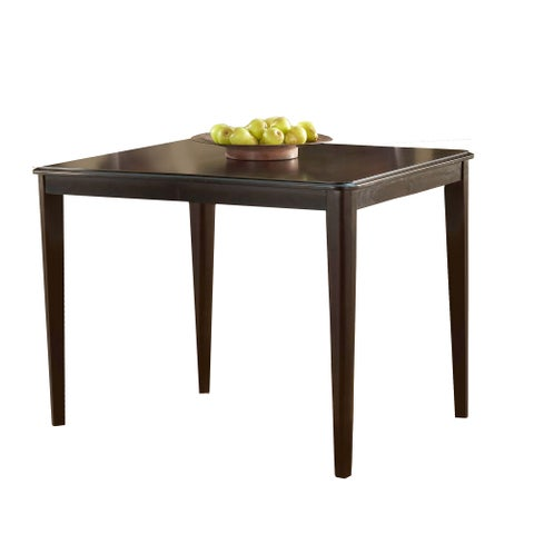 Hillsdale Furniture Bayberry Dark Cherry Finish Wood 42-inch Square Counter Table