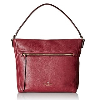 Kate Spade New York Cobble Hill Teagan Merlot Tote Bag