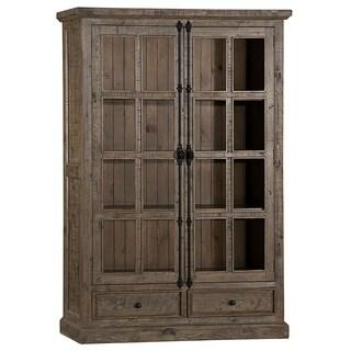 Hillsdale Furniture Tuscan Retreat Grey Wood Double-door Cabinet