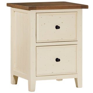 Hillsdale Furniture Tuscan Retreat Country White File Cabinet