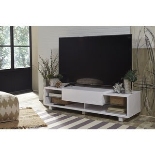 martin svensson home south beach white lacquer and glass tv stand