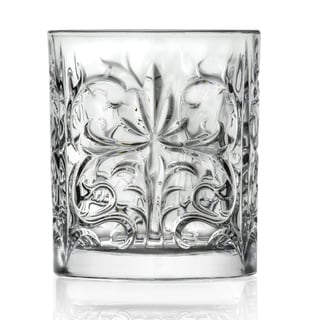 Lorren Home TrendsTattoo Collection Double Old Fashion (Set of 6)