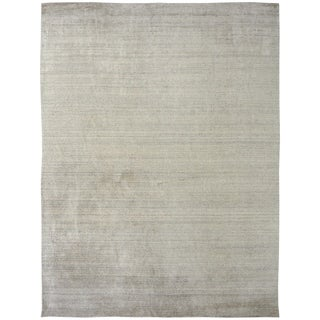 Meridian Cream Hand Made Area Rug (2' x 3')