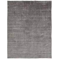 "Meridian Grey Fog Handmade Area Rug - 8'6"" x 11'6"""