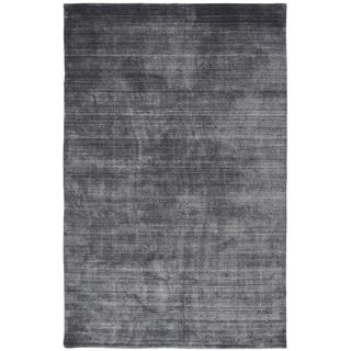 Meridian Charcoal Handmade Area Rug (7'6 x 9'6)