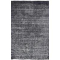 "Meridian Charcoal Handmade Area Rug (7'6 x 9'6) - 7'6"" x 9'6"""