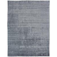 Meridian Handmade Zinc Wool and Viscose Area Rug (5'6 x 8'6)