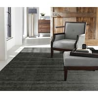 "Terra Graphite Handmade Area Rug (3'6 x 5'6) - 3'6"" x 5'6"""