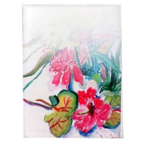Multi-Florals Guest Towel Set of 2