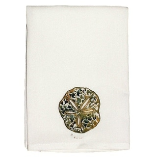 Sand Dollar Guest Towel Set of 2