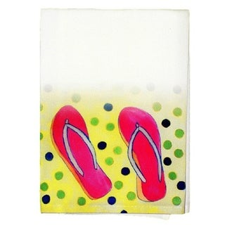 Flip Flops Guest Towel Set of 2