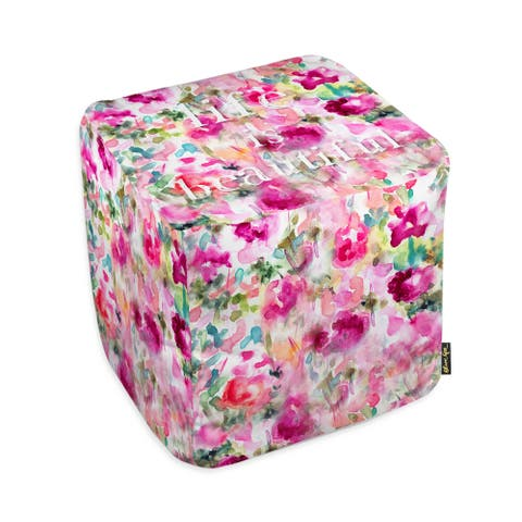 Oliver Gal 'Life is Beautiful'Ottoman