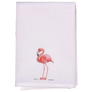 Pink Flamingo Guest Towel Set of 2