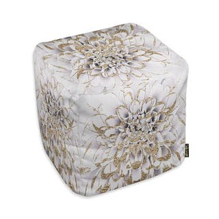 Oliver Gal 'Floralia Blanc'Ottoman|https://ak1.ostkcdn.com/images/products/15859973/P22269379.jpg?impolicy=medium